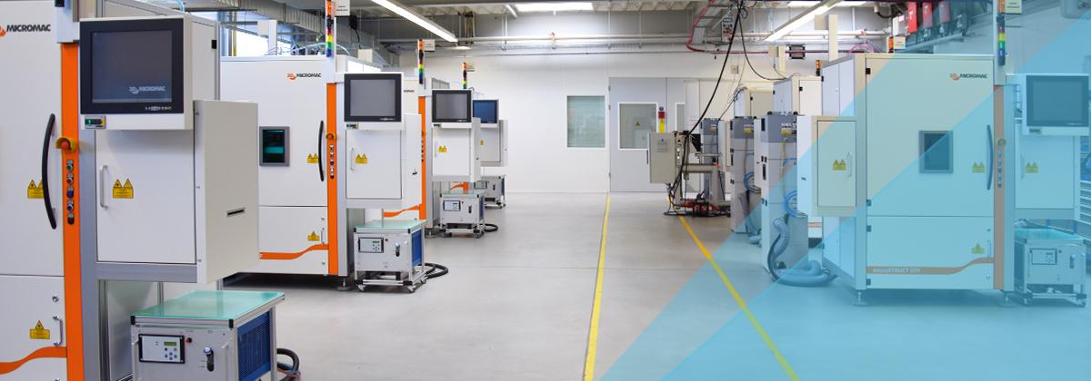 3D-Micromac Laser Machine Production